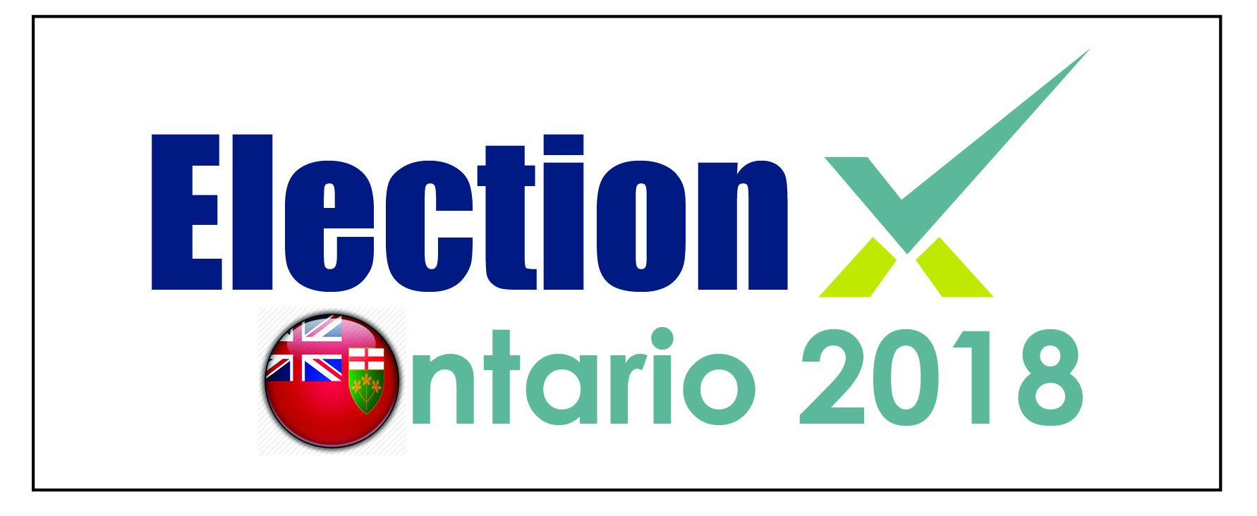 ontario election banner