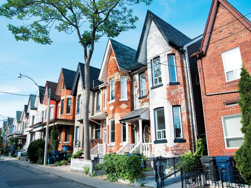 picture of toronto houses